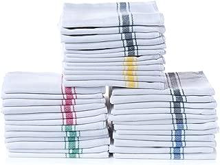 """Simpli-Magic 79165 Herringbone Dish Towels, 15""""x26"""", Multi-Color 18 Pack"""