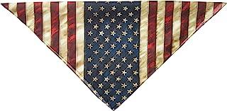 ربطة رأس من Hot Leathers للكبار من الجنسين مطبوع عليها علم أمريكي (متعددة الألوان، 53.34 سم × 53.34 سم)