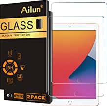 Ailun Screen Protector Compatible for New iPad 8,iPad 7 (10.2-Inch, 2020&2019 Model, 8th&7th Generation) [2Pack] Tempered Glass [Apple Pencil Compatible]