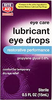 Rite Aid Eye Care Lubricant Eye Drops - 0.5 fl oz