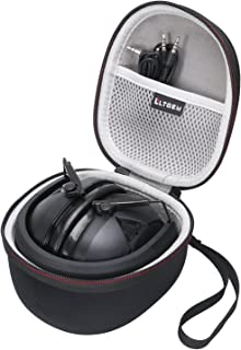 LTGEM EVA Hard Case for Peltor Sport Tactical 300 & 500 Electronic Hearing Protector - Travel Carrying Storage Bag