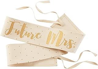 Mud Pie Wedding Future Mrs. Sash