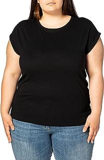 Urban Classics Ladies Extended Shoulder tee Camiseta para Mujer
