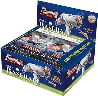 2019 Topps Stadium Club Baseball Factory Sealed 24 Pack Retail Box - Baseball Wax Packs