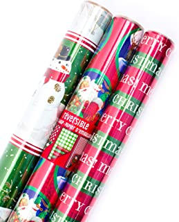 Best classic santa wrapping paper Reviews