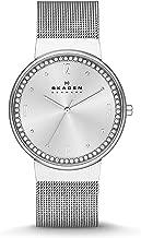 Skagen Women's SKW2152 Ancher Crystal-Accented Stainless Steel Watch