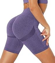 DUROFIT Vrouwen Scrunch Ruched Butt Yoga Shorts met Tummy Control Hoge Taille Sport Running Shorts voor Gym Fietsen Fitnes...