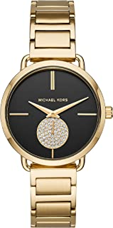 Michael Kors Portia Watch Gold-Tone Stainless Steel Watch MK3788