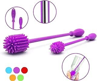 Silicone Bottle Brush Set with 15