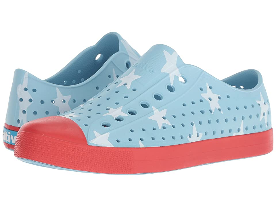 Native Shoes Jefferson (Sky Blue/Torch Red/Big Star) Shoes
