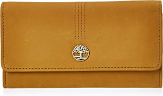 Timberland Leather RFID Flap Wallet Clutch Organizer
