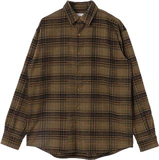 [センスオブプレイス] ワイシャツ モールチェックレギュラーカラーシャツ メンズ AA06-13A004