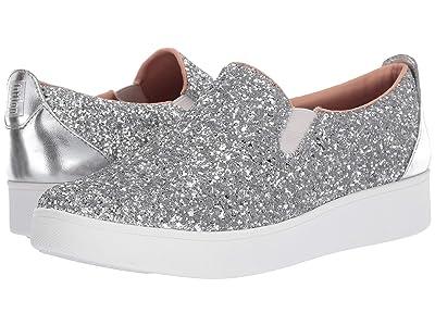 FitFlop Sania Skate (Silver Glitter) Women