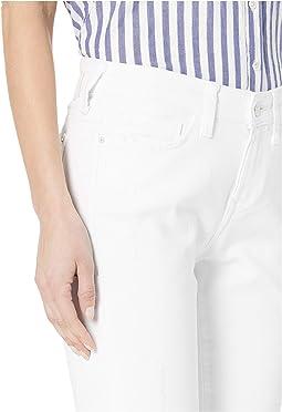 White Ripped Stripe