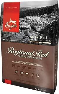 Orijen Regional Red Dry Dog Food Formula. (4.5 Pound Bag, Biologically Appropriate.)