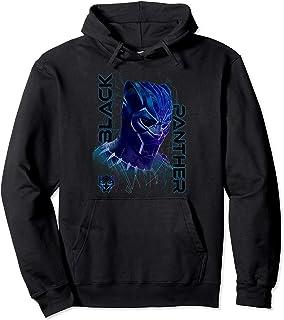 Marvel Black Panther Movie Geo Tech Purple Portrait Sweat à Capuche