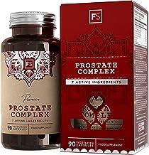 FS Prostata Kapseln 2500mg Hochdosiert | Saw Palmetto Sägepalmenextrakt | 90 Vegetarische Tabletten mit Sägepalme, Pygeum, Zink, Brennnessel | Milch, Allergen und Gluten Frei | ISO-Zertifiziert