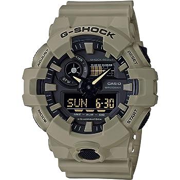 Casio Men's G-Shock XL Series Quartz Watch with Resin Strap, Beige, 25.8 (Model: GA-700UC-5ACR)