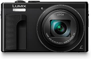 دوربین دیجیتال Panasonic Lumix 4K با 30X LEICA DC Vario-ELMAR لنزهای F3.3-6.4 ، 18 مگاپیکسلی و سنسور حساسیت بالا - دوربین نقطه و ساقه - دوربین DMC-ZS60K (BLACK)