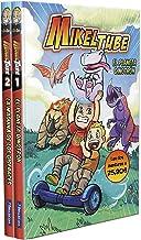 Pack MikelTube: El planeta Dinotrón   La máquina de los disfraces (MikelTube 1 y 2) (Pequeños youtubers) (Spanish Edition)