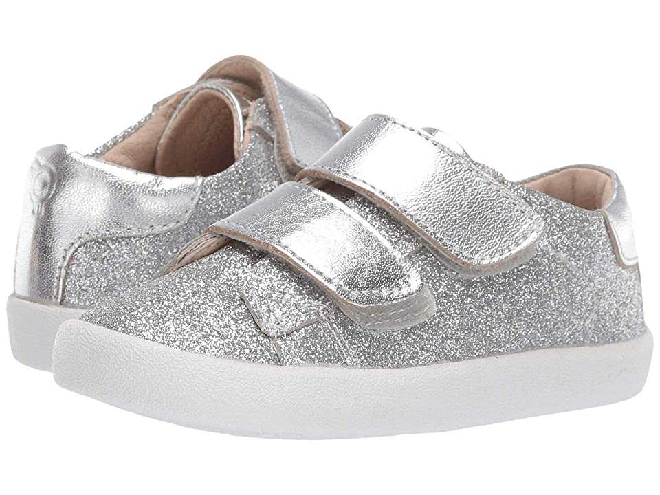 Old Soles Glam Toddy (Toddler/Little Kid) (Glam Argent/Silver) Girl