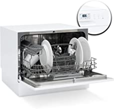 Best Choice Products Kitchen Countertop Portable Compact Dishwasher w/ 6 Wash Cycles and Preset Start Function
