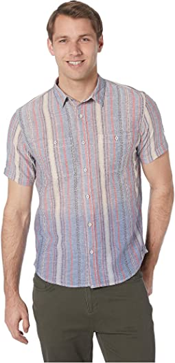 South Seas Serape Short Sleeve Woven Shirt