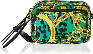 Versace Jeans Couture Womens Crossbody Bag, Frog - VVBBP7-71416-139 15 cm x 11.5 cm x 8 cm