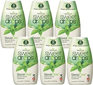Wisdom Sweetleaf Sweet Drops Clear,1.7 Ounce (Pack of 6)