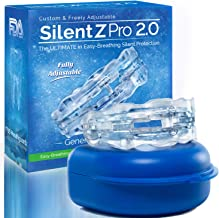 SilentZ Pro 2.0 - Fully Adjustable Professional Night Dental Protector & Mouth Guard Sleep Aid Mouthpiece: Silent Protection