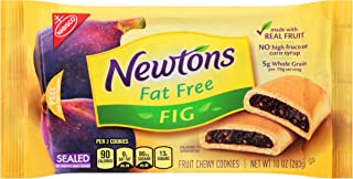 Newtons Fruit Chewy Cookies, (Fat-Free Fig, 10 Ounce, Pack of 12)