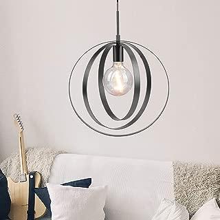 globe chandelier black