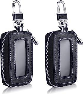 2 قطعه کیف اتومبیل دارنده کیف محافظ Keychain هوشمند وسیله نقلیه Key Fob Vehicle