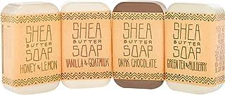 Sponsored Ad - Cosmos & Harmony 4-piece Bar Soap Set For Body And Hands, Vanilla & Goat Milk, Honey & Lemon, Green Tea & M...