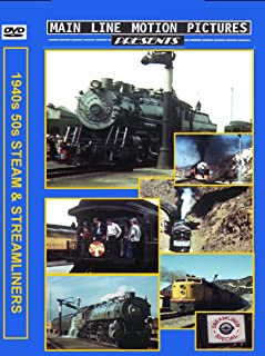 Steam and Streamliners of the 1940's and 1950's [DVD] [2014]