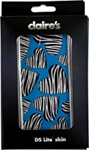 Nintendo DS Lite Sticker Skin Heart Zebra