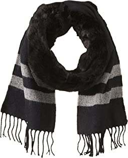Vince Camuto - Fur Trimmed Scarf