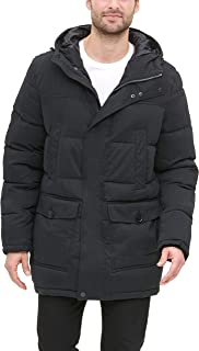Men's Microtwill Long Hooded Parka