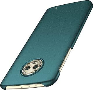 Anccer Moto G6 Plus Case [Colorful Series] [Ultra-Thin] [Anti-Drop] Premium Material Slim Fit Cover for Moto G6 Plus (Not for Moto G6) (Gravel Green)