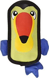 Outward Hound Fire Biterz Durable Tough Dog Toy Made With Firehose Material, Tough Plush Toy for Small Dogs by, Small, Toucan