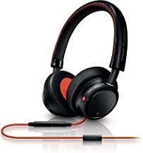 Philips M1BOi/28 Philips Fidelio On-ear Headband Headset Black/Orange