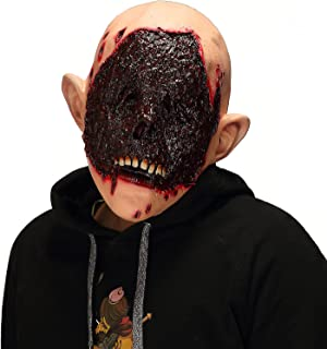 Mo Fang Gong She Halloween Scary Cosplay Props,The Walking Dead Horror Bloody Zombie Men's Mask