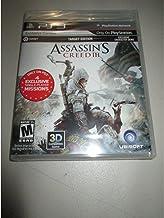 ASSASSIN'S CREED III (Target Edition) (Sony Playstation 3, 2012)