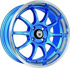 Konig Lightning Blue Wheel with Machined Lip (15x7
