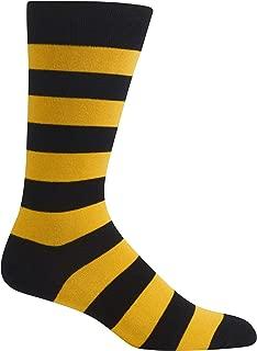 Men's Fashion Pattern Slack Crew Socks