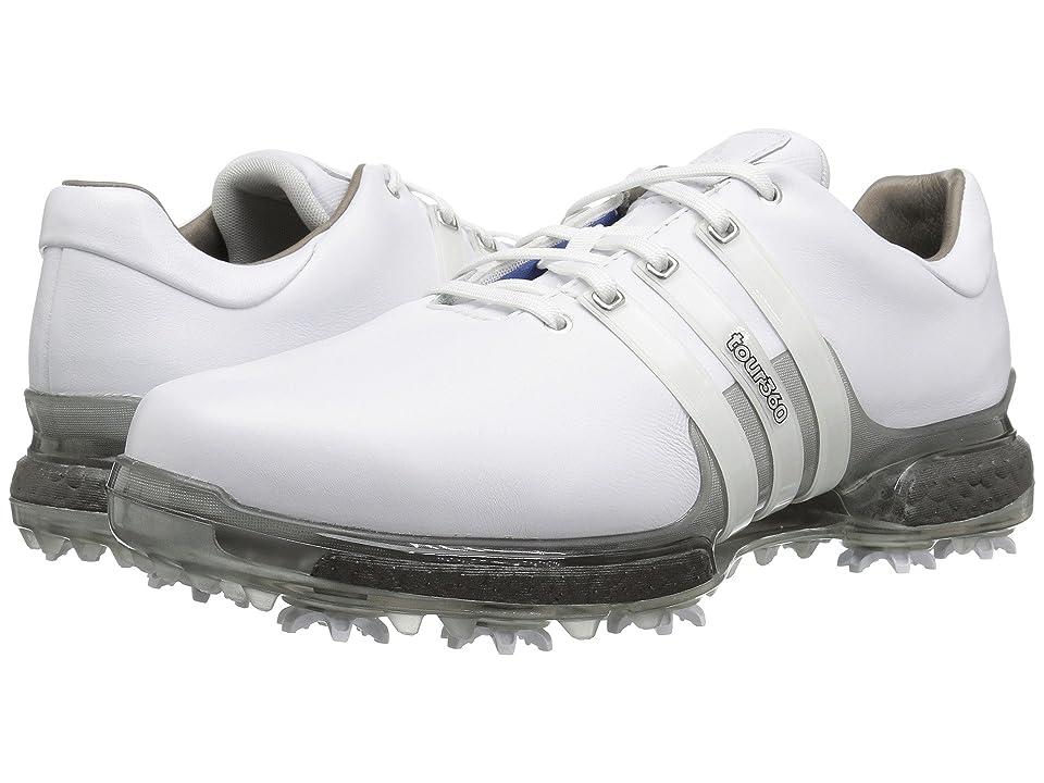 adidas Golf Tour360 2.0 (Limited Edition/White/Trace Grey Metallic) Men
