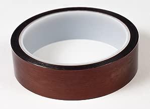 Bertech Kapton Polyimide Low Static Adhesive Tape, 3