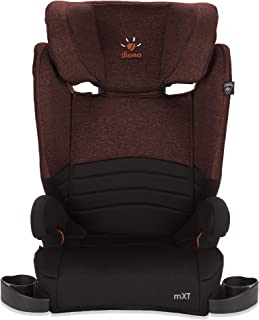 Diono Monterey XT LATCH, 2-in-1 Expandable Booster Seat, Maroon (Discontinued)