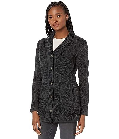Royal Robbins All Season Merino Button Front (Charcoal) Women