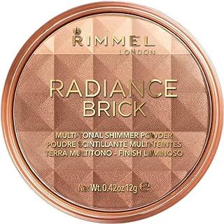 Rimmel Number 001 Radiance Brick - Polvos bronceadores, 12&